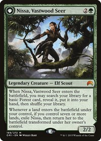 Nissa, Vastwood Seer, Magic: The Gathering, Magic Origins