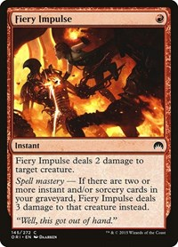 Fiery Impulse, Magic, Magic Origins