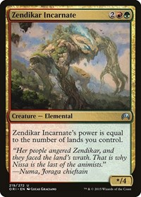 Zendikar Incarnate, Magic: The Gathering, Magic Origins