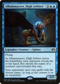 Alhammarret, High Arbiter, Magic: The Gathering, Unique and Miscellaneous Promos