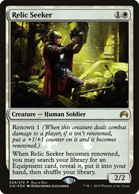 Relic Seeker, Magic: The Gathering, Buy-A-Box Promos