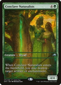Conclave Naturalists, Magic, Game Day & Store Championship Promos