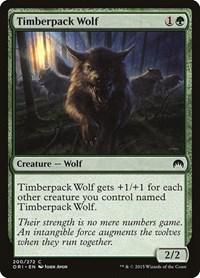 Timberpack Wolf, Magic, Magic Origins