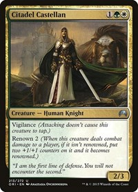 Citadel Castellan, Magic, Magic Origins