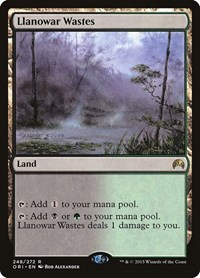 Llanowar Wastes, Magic: The Gathering, Magic Origins