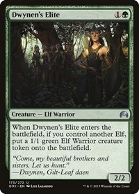 Dwynen's Elite, Magic: The Gathering, Magic Origins