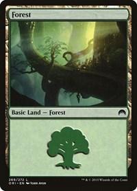 Forest (269), Magic: The Gathering, Magic Origins