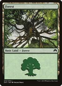 Forest (272), Magic: The Gathering, Magic Origins