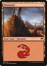 Mountain (268), Magic: The Gathering, Magic Origins
