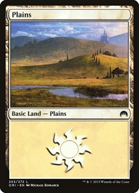 Plains (253), Magic: The Gathering, Magic Origins