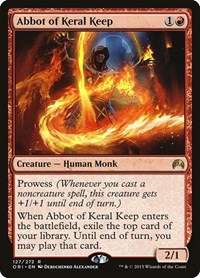Abbot of Keral Keep, Magic: The Gathering, Magic Origins