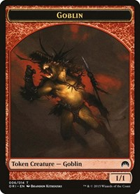Goblin Token, Magic: The Gathering, Magic Origins