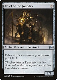 Chief of the Foundry, Magic: The Gathering, Magic Origins