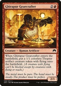 Ghirapur Gearcrafter, Magic: The Gathering, Magic Origins
