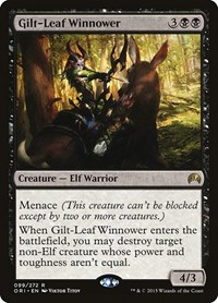 Gilt-Leaf Winnower, Magic: The Gathering, Magic Origins