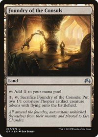 Foundry of the Consuls, Magic: The Gathering, Magic Origins