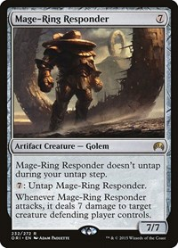 Mage-Ring Responder, Magic, Magic Origins