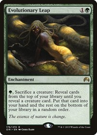 Evolutionary Leap, Magic: The Gathering, Magic Origins
