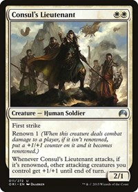 Consul's Lieutenant, Magic, Magic Origins