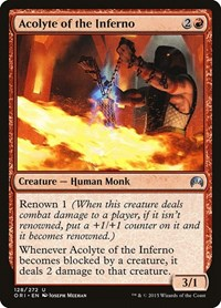 Acolyte of the Inferno, Magic: The Gathering, Magic Origins