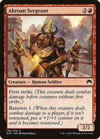 Akroan Sergeant, Magic: The Gathering, Magic Origins