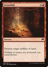Demolish, Magic: The Gathering, Magic Origins