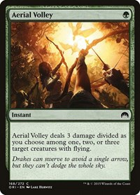 Aerial Volley, Magic: The Gathering, Magic Origins