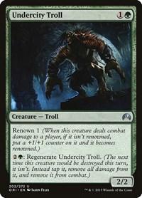 Undercity Troll, Magic: The Gathering, Magic Origins