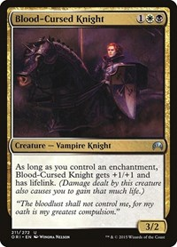 Blood-Cursed Knight, Magic: The Gathering, Magic Origins