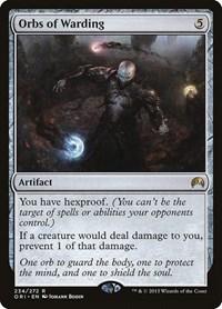 Orbs of Warding ~ Magic Origins Excellent+ Magic MTG