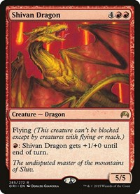 Shivan Dragon, Magic: The Gathering, Magic Origins