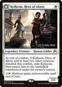 Kytheon, Hero of Akros, Magic, Prerelease Cards