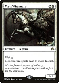 Vryn Wingmare, Magic: The Gathering, Prerelease Cards