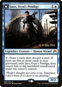 Jace, Vryn's Prodigy, Magic: The Gathering, Prerelease Cards