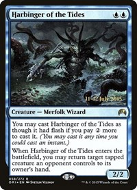 Harbinger of the Tides, Magic: The Gathering, Prerelease Cards