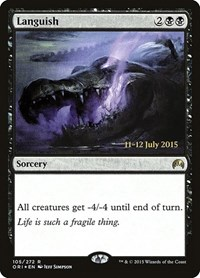 Languish, Magic: The Gathering, Prerelease Cards
