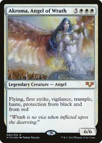 Akroma, Angel of Wrath, Magic: The Gathering, From the Vault: Angels