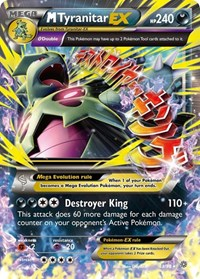 M Tyranitar EX, Pokemon, XY - Ancient Origins