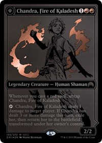 Chandra, Fire of Kaladesh SDCC 2015 EXCLUSIVE (Foil)