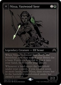 Nissa, Vastwood Seer (SDCC 2015 Exclusive), Magic: The Gathering, Media Promos