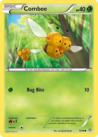 Combee, Pokemon, XY - Ancient Origins