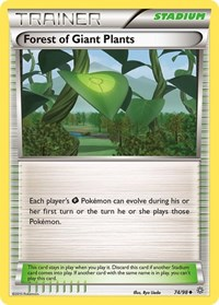 Forest of Giant Plants, Pokemon, XY - Ancient Origins