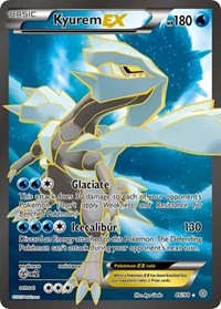 Kyurem EX (86 Full Art), Pokemon, XY - Ancient Origins