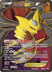 Giratina EX (93 Full Art), Pokemon, XY - Ancient Origins
