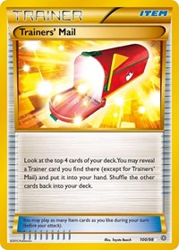 Trainers' Mail, Pokemon, XY - Ancient Origins