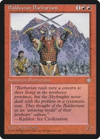 Balduvian Barbarians, Magic: The Gathering, Ice Age