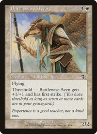Battlewise Aven, Magic: The Gathering, Judgment