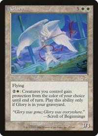 Glory, Magic: The Gathering, Judgment