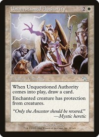 Unquestioned Authority, Magic: The Gathering, Judgment