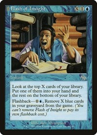 Flash of Insight, Magic: The Gathering, Judgment